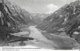 KLÖNTHALERSEE → Von Der Schwammhöhe Aus Gesehen, Ca.1910 - GL Glarus