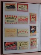Lotje Lucifer Etiketten ( In 1 LOT - Zie Foto's / What You See = What You Get / Zie Foto's : 5 Afdrukken ) ! - Matchbox Labels
