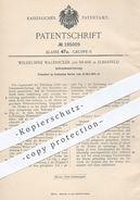 Original Patent - Wilhelmine Walbrecker Geb. Brass , Elberfeld / Köln , 1905 , Schraubensicherung   Schrauben , Bolzen - Historical Documents