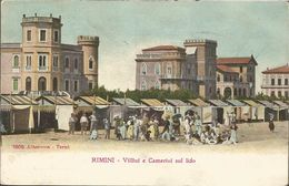 RIMINI VILLINI E CAMERINISUL LIDO EMILIA-ROMAGNA ITALIA, PC, Uncirkulated - Rimini