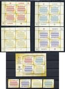 2005 - FIJI - Mi. Nr.  1009/1012 + BL  48 - NH -  (UP.70.20) - Fiji (1970-...)