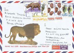 Ethiopia 2015 Bonga Heardress Rhino Bushbuck Cover - Ethiopië