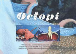 Tuvalu 2017 Animal Octopi - Marine Life