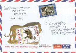 Ethiopia 2015 Hawassa Rinderpest Researchers Bushbuck Cover - Ethiopië