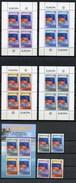 2005 - KIRIBATI - Mi. Nr.  993/996 + 4MF + BL  60 - NH -  (UP.70.20) - Kiribati (1979-...)
