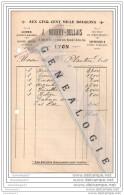 69 514 LYON RHONE 191. Livre AUX CINQ MILLES BOUQUINS Ets J. NOURRY - BELLAIS 3 Rue Bat Argent Et  8 Arbre Sec ˆ P - Printing & Stationeries