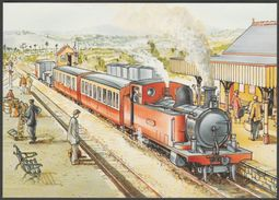 County Donegal Railway By Charles Rycraft, 32p Stamp, 1995 - An Post Postcard - Trains