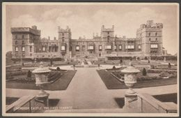 East Terrace, Windsor Castle, Berkshire, C.1920 - Postcard - Windsor Castle