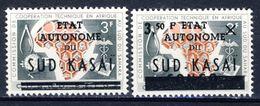 Sud-Kasai - Zuid Kasai  Nr 14-15    Neufs Avec Charnière - Postfris Met Plakker - MN  (X) - South-Kasaï