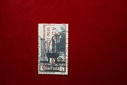 ERITREA  - PITTORICA   - 1 L.  - 1933 - USATO - ANNULLO SPECIALE - Eritrea