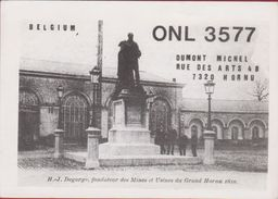 QSL Card Amateur Radio Station CB Belgian Begium Michel Dumont Hornu H.J. Degorge Mons 1984 - Radio Amatoriale