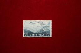 ERITREA  - POSTA AEREA  - 2 L.  - 1936 - USATO - Eritrea