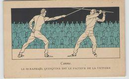 CPA SAINT-RAPHAËL QUINQUINA JEUX OLYMPIQUES 1924 CANNE / DRAEGER IMPRIMERIE - Giochi Olimpici