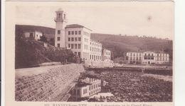 CPA  - 951. BANUYLS SUR MER - Le Laboratoire Et Le Grand Hôtel - Banyuls Sur Mer