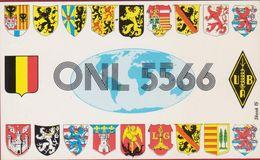 QSL Card Amateur Radio Station CB Belgian Begium QSO Paul Van Audenaeren Mortsel 1982 - Radio Amatoriale