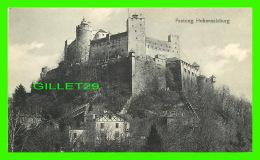 HOHENSALZBURG, AUSTRIA - FESTUNG - TRAVEL IN 1911 -  C. JURISCHECK - - Salzburg Stadt