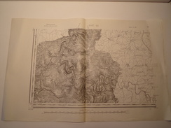 CARTE GIVET S.O 1/80000  REVISEE EN 1913 EDITION PROVISOIRE - Topographical Maps