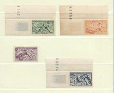 FRANCE  ( F45 - 90 )   1949  N° YVERT ET TELLIER  N° 859/862     N** - Unused Stamps