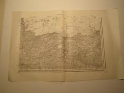 CARTE ROCROY S.E. EDITION PROVISOIRE REVISEE EN 1913 - Topographical Maps