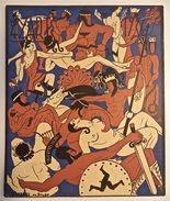 Carton D 'invitation Pour Le Bal Des 4'z'arts, 1936, L'Olympe - Sin Clasificación