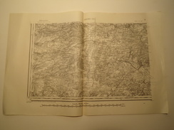 CARTE ROCROY S.O. 1/80000 EDITION PROVISOIRE REVISEE EN 1913 - Topographical Maps