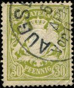 Pays :  20,02 (Allemagne : Bavière)  Yvert Et Tellier N° :  67 (o) - Bavaria