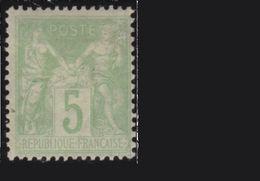 SAGE Yvert N 102 * Neuf Avec Gomme Et Charnière - 1876-1898 Sage (Type II)