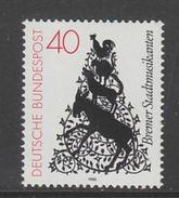 """TIMBRE NEUF D'ALLEMAGNE FEDERALE - """"LES MUSICIENS DE LA VILLE DE BREME"""", CONTE DES FRERES GRIMM N° Y&T 952 - Fairy Tales, Popular Stories & Legends"""