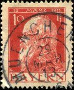 Pays :  20,02 (Allemagne : Bavière)  Yvert Et Tellier N° :  78 (o) - Bavaria