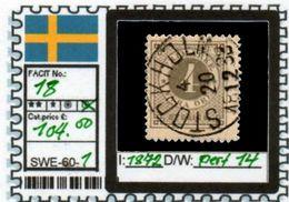 EUROPE:SWEDEN #CLASSIC#1870># (SWE-60-1) (01) - Oblitérés