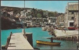 The River At Looe, Cornwall, 1964 - Harvey Barton Postcard - England