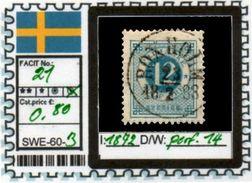 EUROPE:SWEDEN #CLASSIC#1870># (SWE-60-1) (03) - Oblitérés