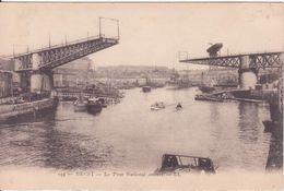 CPA  - 159.. BREST Le Pont National Ouvert - Brest