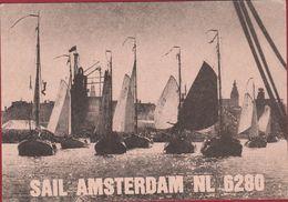 QSL Card Mateur Radio Station CB Holland Sail Amsterdam 1980 Warmond Peter Nieuwenburg - Radio Amateur