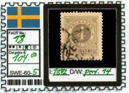 EUROPE:SWEDEN #CLASSIC#1870># (SWE-60-1) (05) - Oblitérés