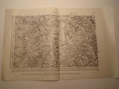 CARTE VERDUN S.O. EDITION PROVISOIRE REVISEE EN 1911 1/80000 - Topographical Maps
