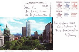 Montreal 1983, Le Chateau Champlain Hotel, Block Aus Heft/MH - 1953-.... Reinado De Elizabeth II