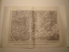 CARTE BAR LE DUC S.O. EDITION PROVISOIRE REVISEE EN 1911 - Topographical Maps