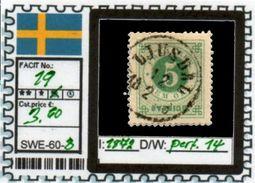 EUROPE:SWEDEN #CLASSIC#1870># (SWE-60-1) (08) - Oblitérés