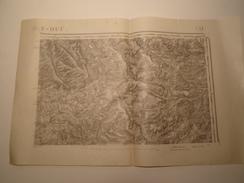 CARTE BAR LE DUC EDITION PROVISOIRE REVISEE EN 1913 - Topographical Maps
