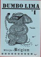 QSL Card Amateur Radio Station CB Belgium Wilrijk Olifant Dumbo Lima Elephant Ronny Peeters - Radio Amatoriale