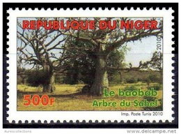 NIGER 2010 BAOBAB ARBRE DU SAHEL TREE ARBRES TREES Mi 2012  YT 1679  MNH ** RARE - Niger (1960-...)
