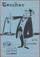 QSL Card Amateur Radio Station CB Belgium Aartselaar Willebroek (fold - Kreuk) - Radio Amatoriale