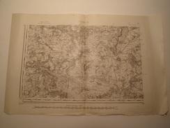 CARTE CHALON S.O. 1884 REVISEE EN 1911 EDITION PROVISOIRE - Topographical Maps