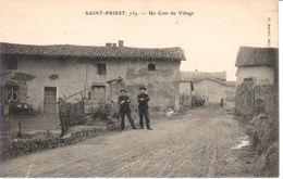 07SPR- SAINT-PRIEST - Un Coin Du Village - Frankreich