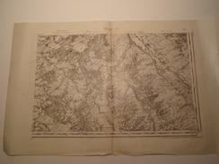 CARTE CHALON S.E. EDITION PROVISOIRE REVISEE EN 1911 - Topographical Maps