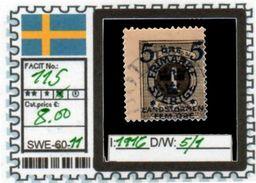EUROPE:SWEDEN #CLASSIC#1870># (SWE-60-1) (11) - Oblitérés