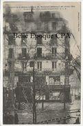 75 - PARIS 01 - 63, Bd Sébastopol - Incendie De La Maison Laurette / 1904 ++++ ELD / E. Le Deley ++++ - Arrondissement: 01
