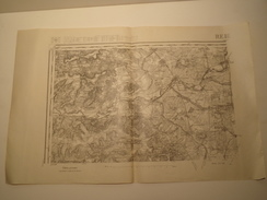 CARTE REIMS N° 34 EDITION PROVISOIRE REVISEE 1913 - Topographical Maps