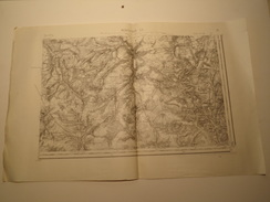 CARTE MONTDIDIER S.E. N° 21 TYPE 1889 REVISEE EN 1902 - Topographical Maps